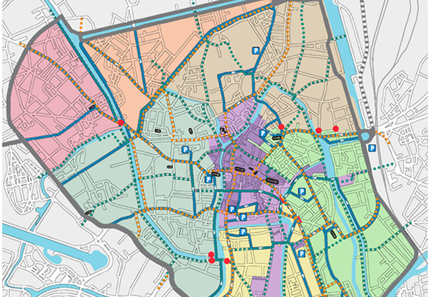 mobiliteitsplan gent, binnenstad, circulatie