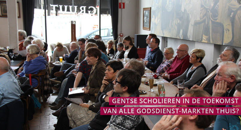 speakers corner, gent, debat, godsdienst, school