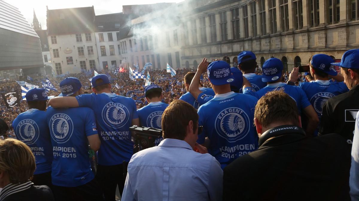 KAA Gent kampioen blog