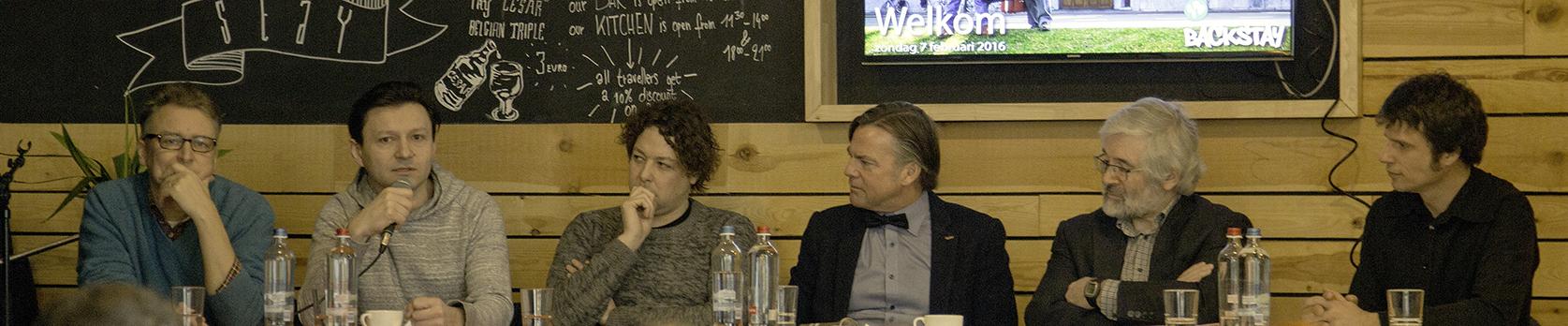 Amigo bij Speakers corner Gent
